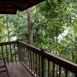Balcony with Treehouse room