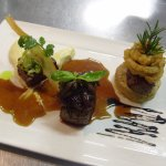 Ever popular Trio of Venison