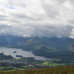 8 mile round trip from The Portland House door to door up Skiddaw, well worth it