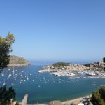 View of the bay of Puerto Soller