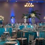 Coral Ballroom Social Setup