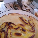 Banana pancake breakfast. Nice!