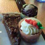 cupcakes and pecan pie