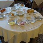 fin du petit déjeuner