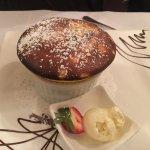 C'est Bon deserts: Cream brûlée, Crepes, Passion fruit soufflé