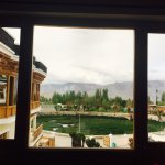 View From room facing mountains