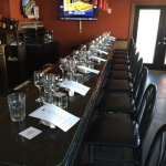 Blue Bar - set for a Wine Dinner