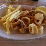 calamari fritti e patate