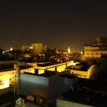 Blick bei Nacht zur Giralda.