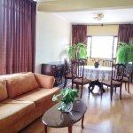 Sala de estar Suite Familiar