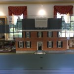 Miniature of house inside the actual house