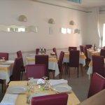 Luminosa sala da pranzo