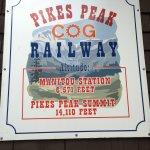 Pikes Peak Cog Railway Foto