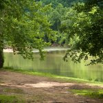 One full mile of Riverfront camping available.