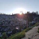 Sundown on the Granite Chief