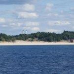 Muskegon shore sand dunes
