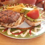 Mexican burger, The Mexican, Exmouth