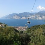The cable car from Malcesine to Monte Baldo