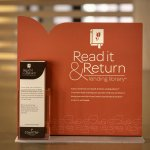 Grab a book from the Read It & Return Lending Library