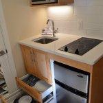 Kitchenette unit in Studio