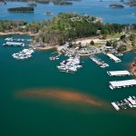 Overview of Keowee Marina