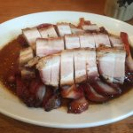 BBQ pork belly and Cha Siu