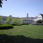Front lawn - The Sagamore