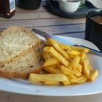 Bread, Fries and tea - £7.90p !