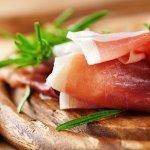 Prosciutto from our deli