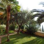 Jardin privé de l'hôtel