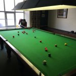 Snooker table!