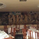 Restaurant of Hotel Belvedere - original wall painting