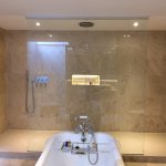 Stunning shower in Room 107