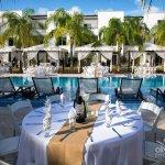 Poolside Wedding Reception