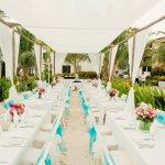 Reception Dinner under the Tirzah