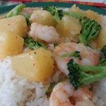 Pineapple Shrimp.