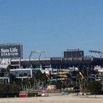 Sun Life Stadium - home of the Miami Dolphins