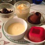 Buffet de dessert à volonté
