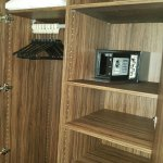 Wardrobe and electronic safe