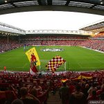 Anfield Stadium, Home of Liverpool Football Club