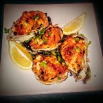 Oysters Bienville *handcrafted by head Chef Joseph Allen Stoltz*  !!!One Of a Kind Don't Miss Ou