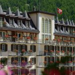 Mont Cervin Palace in summer