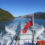 A beautiful day on Pelorus Sound.