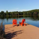 A peaceful spot to view early fall colours
