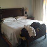 Master bedroom in 3 bedroom suite