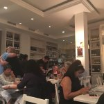 Busy and popular italian restaurant