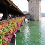 Bridge near Hotel des Alpes