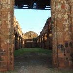 Porta de entrada das ruínas