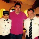 Chef Tecuich y Capitán Ernesto, deliciosos platillos y gentileza