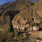 Panorama of Cacheuta